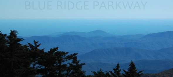 Blue Ridge Parkway, NC, SE View, (c) 2010 Amberwood Media Group